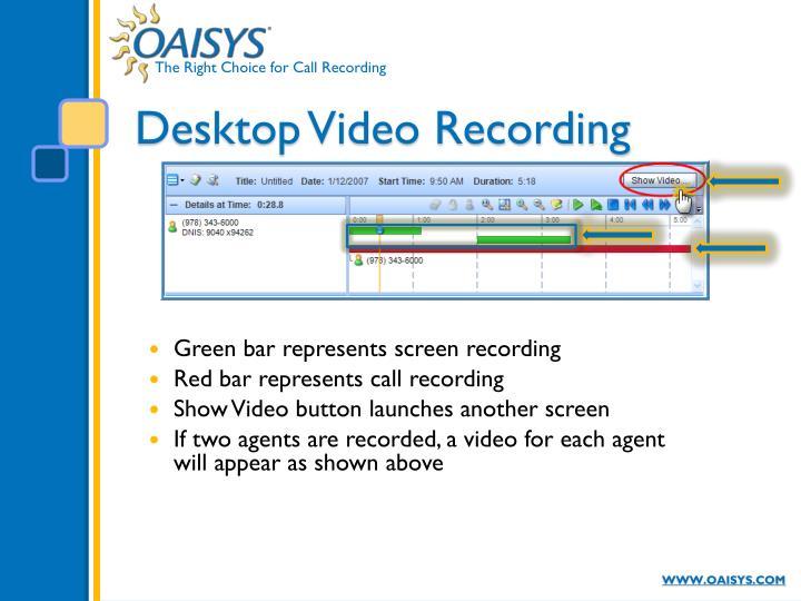 Desktop Video Recording