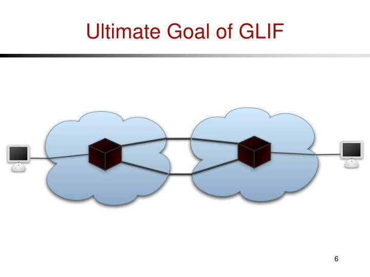 Ultimate Goal of GLIF
