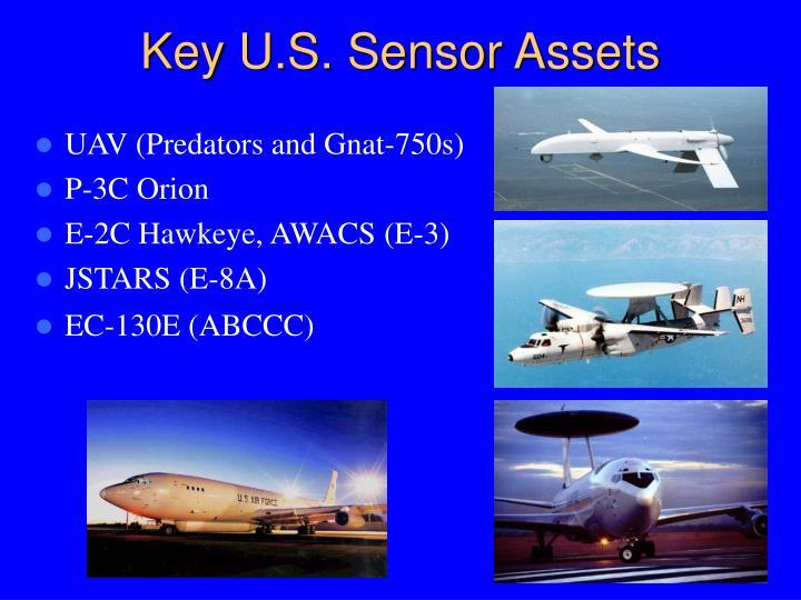 Key U.S. Sensor Assets