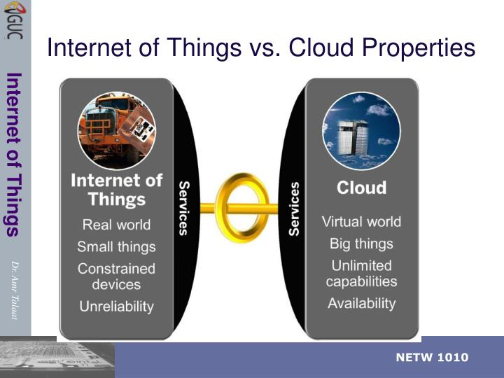 Internet of Things vs. Cloud Properties