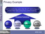 privacy example