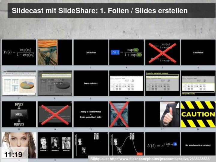 Slidecast mit SlideShare: 1. Folien / Slides erstellen