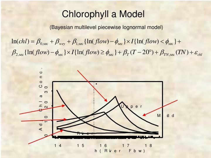 Chlorophyll a Model