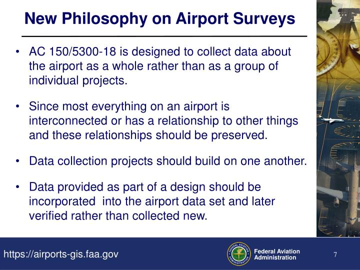 New Philosophy on Airport Surveys