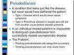 pseudodisease