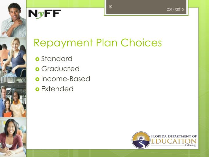 Repayment Plan Choices