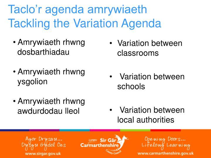 Variation between classrooms