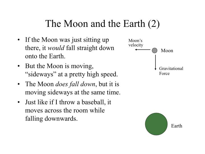 The Moon and the Earth (2)