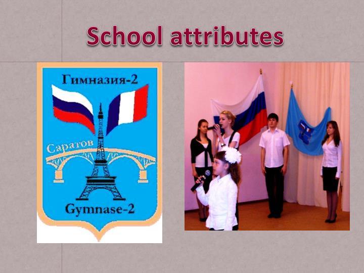 School attributes