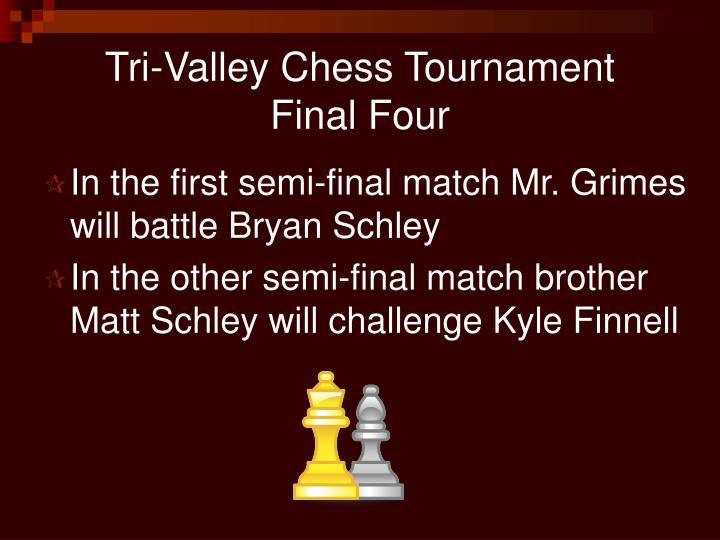 Tri-Valley Chess Tournament