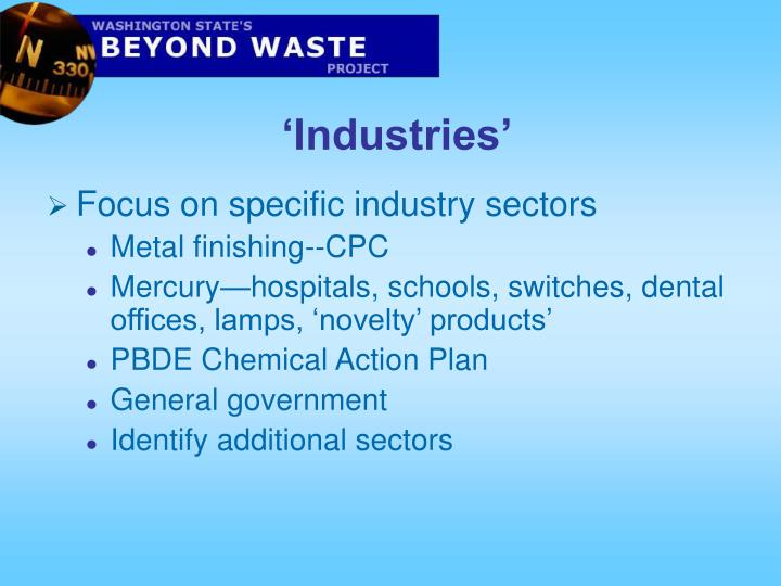 'Industries'