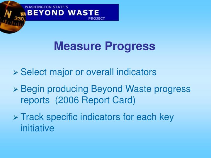 Measure Progress