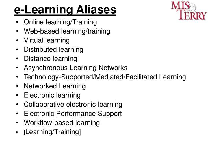 e-Learning Aliases