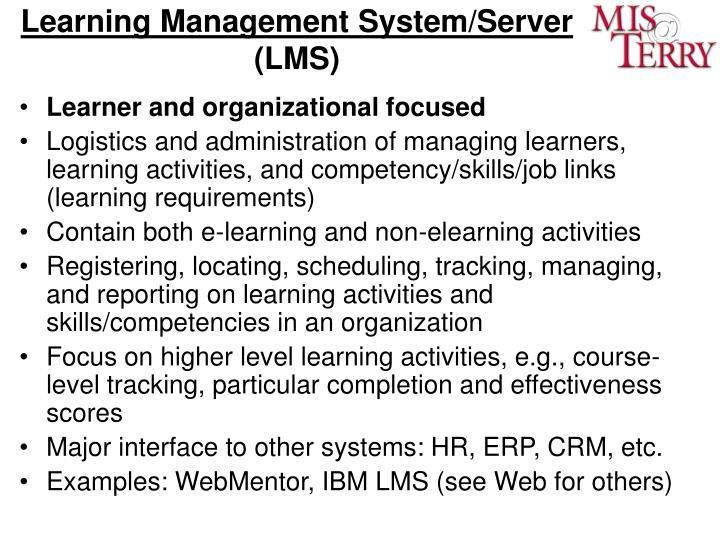 Learning Management System/Server