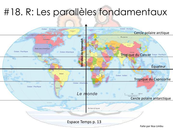 #18. R: Les parallèles fondamentaux