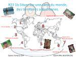 23 1b situer sur une carte du monde des territoires autochtones