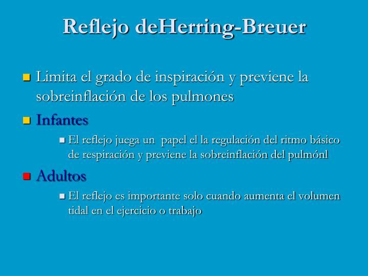Reflejo deHerring-Breuer