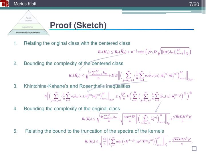 Proof (Sketch)