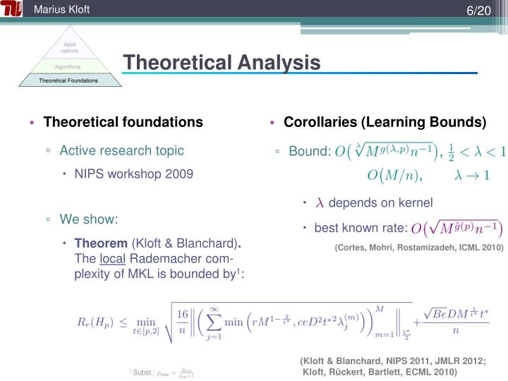 Theoretical Analysis
