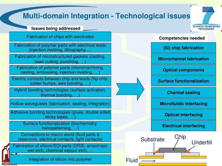 Multi-domain Integration - Technological issues