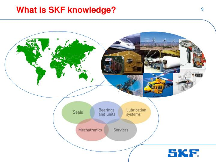 What is SKF knowledge?