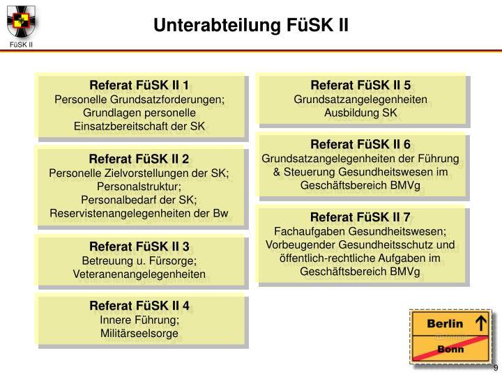Referat FüSK II 1