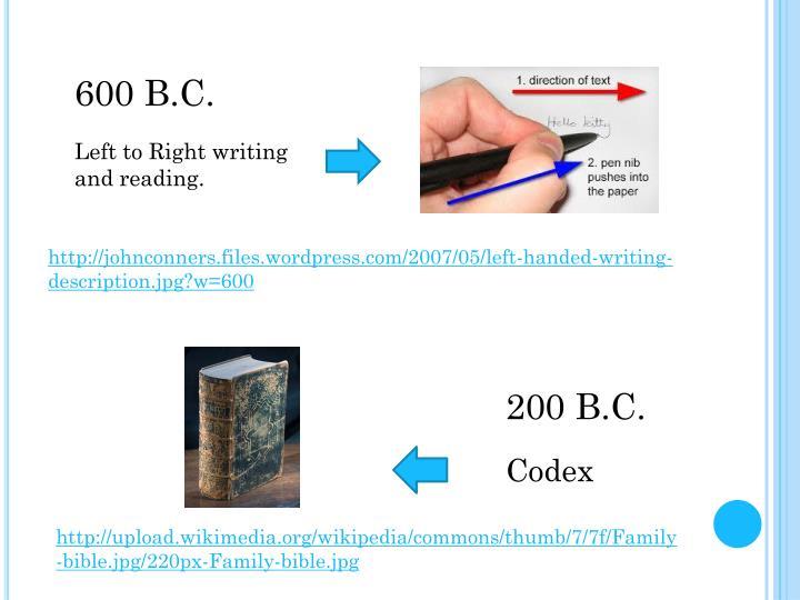 600 B.C.