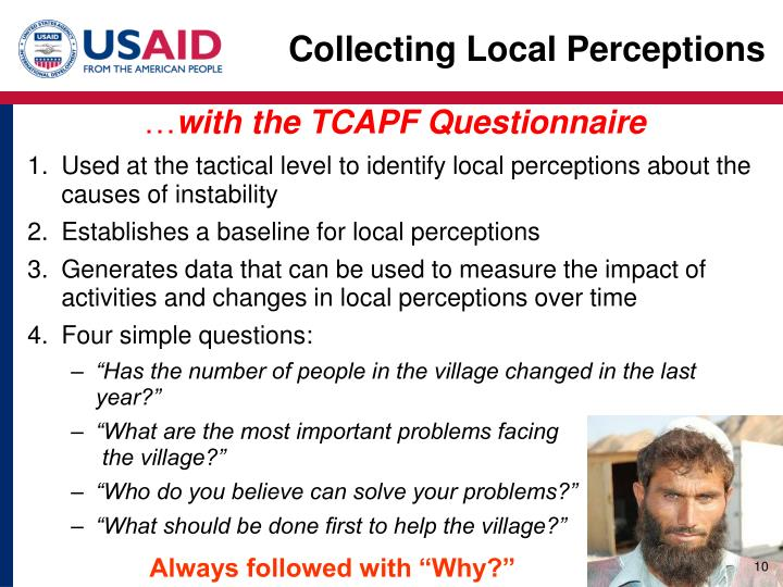 Collecting Local Perceptions