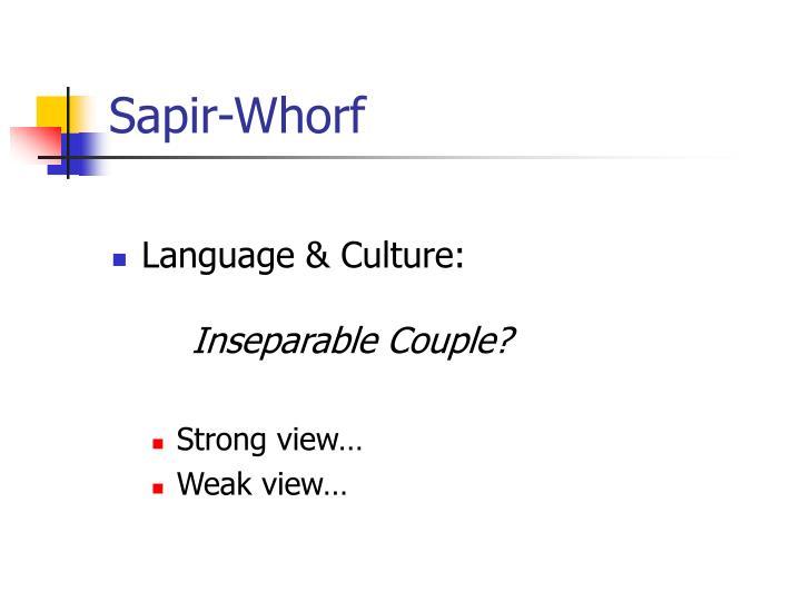 Sapir-Whorf
