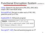 functional encryption system gghrsw13