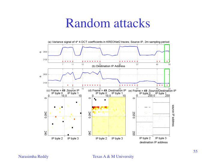 Random attacks