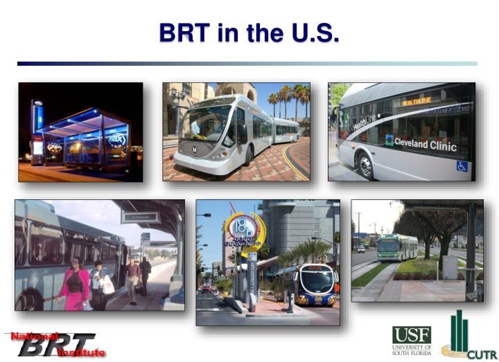 BRT in the U.S.
