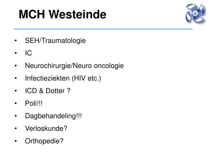 MCH Westeinde
