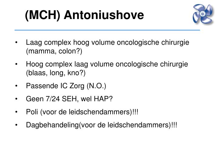 (MCH) Antoniushove