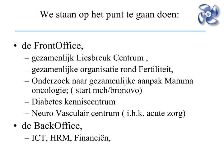 de FrontOffice,