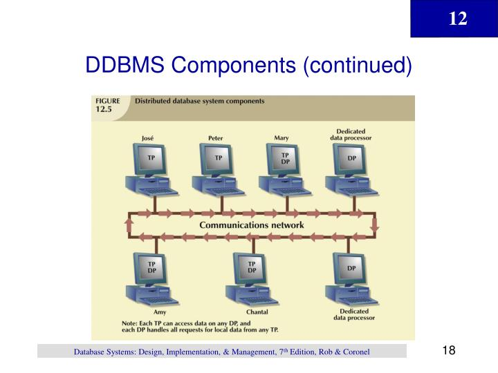 DDBMS Components (continued)