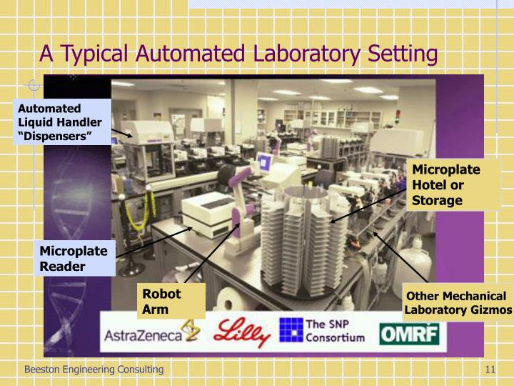 A Typical Automated Laboratory Setting
