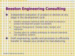 beeston engineering consulting
