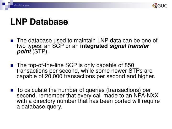 LNP Database