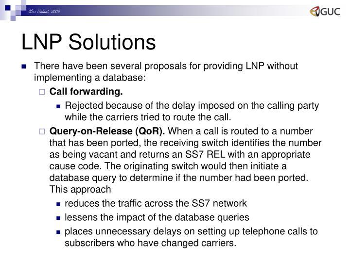 LNP Solutions