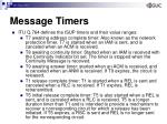 message timers