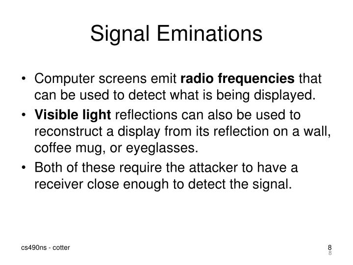 Signal Eminations