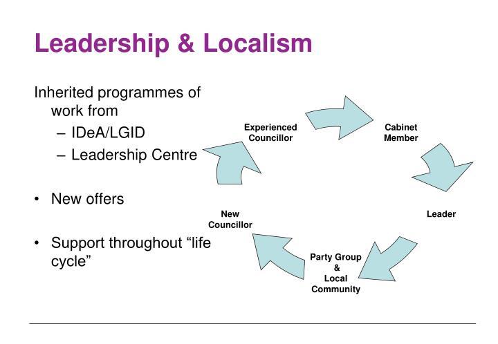 Leadership & Localism