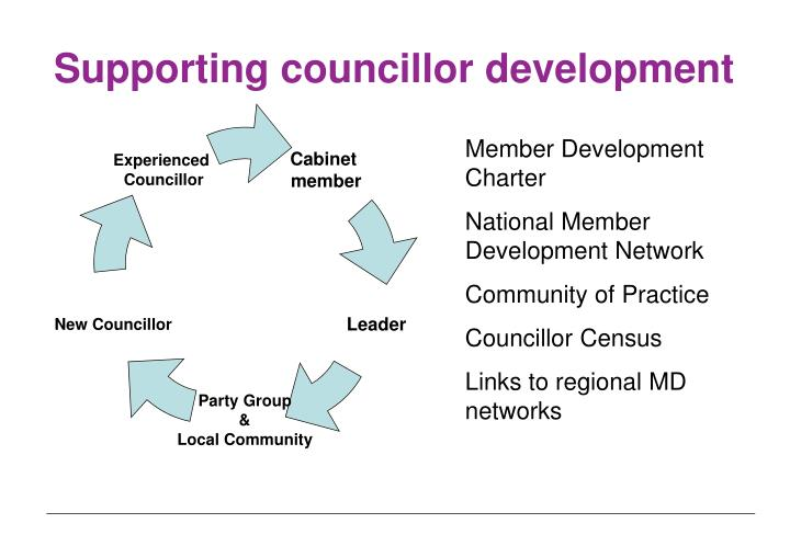 Supporting councillor development