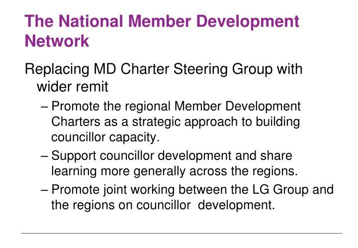 The National Member Development Network