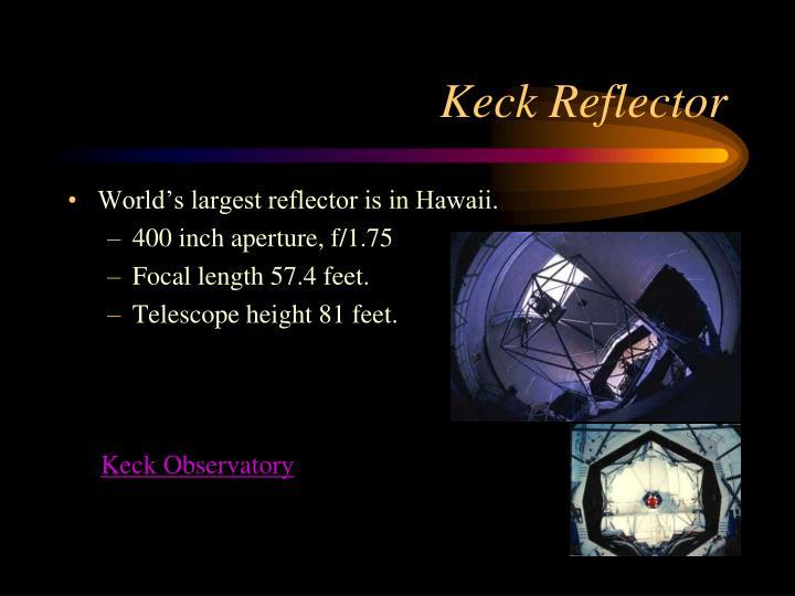 Keck Reflector