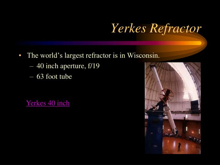 Yerkes Refractor