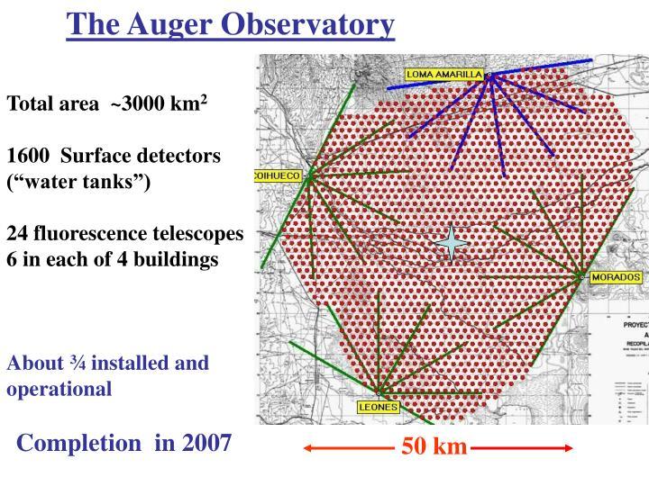 The Auger Observatory