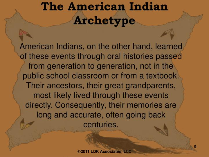 The American Indian Archetype