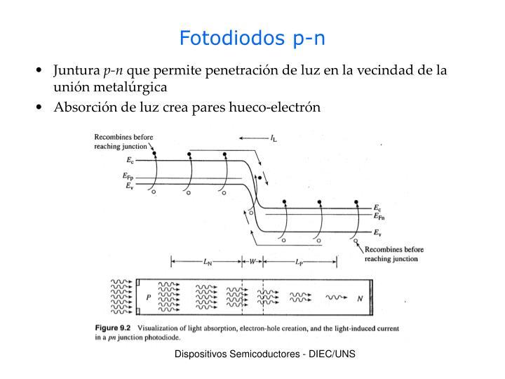 Fotodiodos p-n